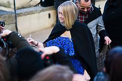 Dakota Fanning is seen during Paris Fashion Week Womenswear Fall/Winter 2018/2019, on March 4, 2018 in Paris, France.  (Photo by Nataliya Petrova/NurPhoto/Sipa USA)