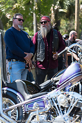 Chemical Candy Custom's Boogie East Chopper Show at Annie Oakley's Saloon during Daytona Beach Bike Week. FL. USA. Friday March 17, 2017. Photography ©2017 Michael Lichter.