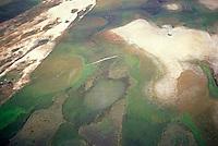 Vista aerea de llano y medanos, Parque Nacional Cinaruco-Capanaparo, Apure, Venezuela