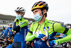BRAJKOVIC Janez of Slovenia and ROGLIC Primoz of Slovenia during Men Elite Road Race at UCI Road World Championship 2020, on September 27, 2020 in Imola, Italy. Photo by Vid Ponikvar / Sportida
