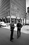 U2 - Bono and the Police - downtown Chicago USA tour - 1981