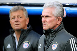 Bayern Munich's manager Jupp Heynckes (right) and Assistant coach Peter Hermann