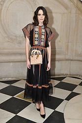 Stacy Martin attends the Christian Dior Haute Couture Spring Summer 2019 show as part of Paris Fashion Week on January 21, 2019 in Paris, France. Photo by Laurent Zabulon/ABACAPRESS.COM