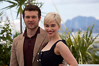 Alden Ehrenreich and Emilia Clarke at the Solo: A Star Wars Story film photo call at the 71st Cannes Film Festival, Tuesday 15th May 2018, Cannes, France. Photo credit: Doreen Kennedy
