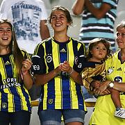 Fenerbahce's supporters during their Turkish superleague soccer match S.B. Elazigspor between Fenerbahce at the Ataturk stadium in izmir Turkey on Saturday 18 August 2012. Photo by TURKPIX