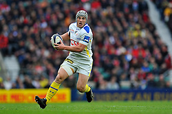 Jonathan Davies of Clermont Auvergne - Photo mandatory by-line: Patrick Khachfe/JMP - Mobile: 07966 386802 02/05/2015 - SPORT - RUGBY UNION - London - Twickenham Stadium - ASM Clermont Auvergne v RC Toulon - European Rugby Champions Cup Final