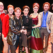 NLD/Breda/20110228 - Premiere Masterclass, Pia Douwes en cast Babette Holtmann, Maartje Rammelo, Michiel van Lieshout, Kees van Zantwijk, Rudy Hellewegen en regisseur Frank Van Laecke