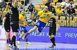 Igor Anic of Celje during handball match between RK Celje Pivovarna Lasko and RK Gorenje Velenje in last round of Liga NLB 2018/19, on May 31st, 2019, in Arena Zlatorog, Celje, Slovenia. RK Celje PL became Slovenian National Champion in year 2019. Photo by Milos Vujinovic / Sportida