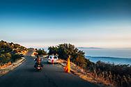 Bike ride with Edu to go see the Rey Fire Saturday evening. East Camino Cielo. ©CiroCoelho.com