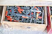 Zurich, SWITZERLAND, Wednesday, 01/06/2016, Stämpfli Racing Boats, Factory, Workshops beside Lake Zurich,<br /> <br /> [Mandatory Credit; Peter SPURRIER/Intersport-images] , Boat and Oar / Blade, Making, Building, Construction,