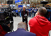 Illinois Governor Bruce Rauner visited Mac Medical in Millstadt, Illinois on Friday March 23 as part of his statewide tour to kick off his general election campaign. Rauner toured the facility, which manufactures medical equipment in its 100,000 square foot facility. Here Rauner takes questions from the media.