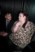 ED HOWARD; KAYLEE COOPER;, The launch screening of ÔAnimal CharmÕ  and ÔSusie LovittÕ - W hotel leicester sq. London. 31 January 2012.<br /> ED HOWARD; KAYLEE COOPER;, The launch screening of 'Animal Charm'  and 'Susie Lovitt' - W hotel leicester sq. London. 31 January 2012.