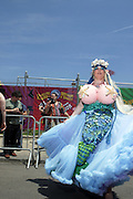 19 June 2010-Coney Island, Brooklyn, New York- Atmosphere at The 2010 Mermaid Parade where King Neptune Lou Reed and Queen Mermaid presided over the festivities of the Mermaid Parade...A completely original creation of Coney Island USA, the Mermaid Parade is the nation's largest art parade and one of New York City's greatest summer events.The Mermaid Parade celebrates the sand, the sea, the salt air and the beginning of summer, as well as the history and mythology of Coney Island, Coney Island pride, and artistic self-expression. Photo Credit: Terrence Jennings