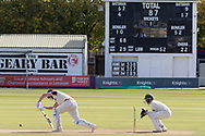 Alex Wakely batting during the Specsavers County Champ Div 2 match between Leicestershire County Cricket Club and Northamptonshire County Cricket Club at the Fischer County Ground, Grace Road, Leicester, United Kingdom on 13 September 2019.