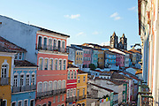 Salvador_BA, Brasil.<br /> <br /> Pelourinho em Salvador, Bahia. Na foto Igreja do Santissimo Sacramento do Passo.<br /> <br /> Pelourinho in Salvador, Bahia. In this photo Santissimo Sacramento do Passo church.<br /> <br /> Foto: RODRIGO LIMA / NITRO