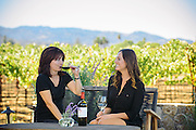 Wine tasting at Foley Johnson Winery