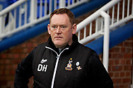 Bradford City Manager David Hopkin  before the The FA Cup 2nd round match between Peterborough United and Bradford City at London Road, Peterborough, England on 1 December 2018.