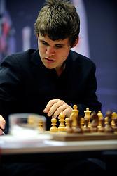 20-01-2009 SCHAKEN: CORUS CHESS: WIJK AAN ZEE<br /> Magnus Carlsen NOR <br /> ©2009-WWW.FOTOHOOGENDOORN.NL