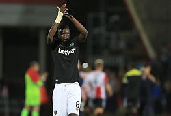 Cheikhou Kouyate of West Ham United - Mandatory by-line: Paul Roberts/JMP - 23/08/2017 - FOOTBALL - LCI Rail Stadium - Cheltenham, England - Cheltenham Town v West Ham United - Carabao Cup