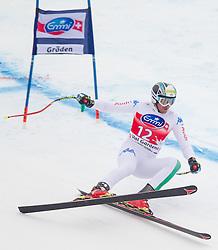 14-12-2012 SKIEN: FIS WORLDCUP SUPER G: VAL GARDENA<br /> Werner Heel of Italy in action during Super G of the FIS Ski Alpine Worldcup at Sasslong course<br /> ***NETHERLANDS ONLY***<br /> ©2012-FotoHoogendoorn.nl
