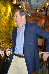 The 18th DUKE OF NORFOLK at a party to celebrate the publication of The Naturalista by Xochi Balfour held at Anthropologie, 158 Regent Street, London on 19th April 2016.