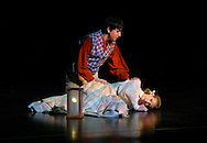"""THE ADVENTURES OF TOM SAWYER -- A scene from """"The Adventures of Tom Sawyer-The Broadway Musical"""" presented by Variety, the children's charity of St. Louis. Image © copyright 2009 Variety, the children's charity."""