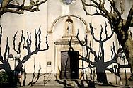 France, Languedoc Roussillon, Gard (30), Cevennes, Le Vigan, église St. Pierre