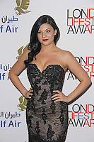 Lucy Kay, London Lifestyle Awards 2014, The Troxy, London UK, 08 October 2014, Photo By Brett D. Cove