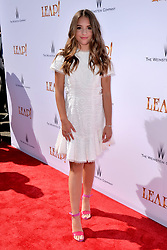 Mackenzie Ziegler attends the Weinstein Company's LEAP! premiere at the Grove Theatre on August 19, 2017 in Los Angeles, California. Photo by Lionel Hahn/AbacaPress.com