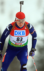 Kevin Kane (GBR) at Men 20 km Individual at E.ON Ruhrgas IBU World Cup Biathlon in Hochfilzen (replacement Pokljuka), on December 18, 2008, in Hochfilzen, Austria. (Photo by Vid Ponikvar / Sportida)