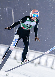 February 8, 2019 - Lahti, Finland - Dawid Kubacki participates in FIS Ski Jumping World Cup Large Hill Individual training at Lahti Ski Games in Lahti, Finland on 8 February 2019. (Credit Image: © Antti Yrjonen/NurPhoto via ZUMA Press)