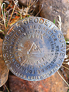 U.S. Coast & Geodetic Survey marker (Diamond Gap) WA, USA