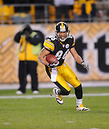 Hines Ward of the PIttsburgh Steelers during a 24-20 loss to Indianapolis on Sunday, Nov. 9, 2008 in Pittsburgh.