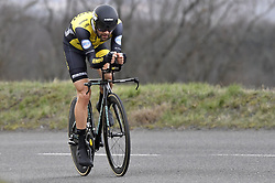 March 7, 2018 - Saint Etienne, France - SAINT-ETIENNE, FRANCE - MARCH 7 : MARTENS Paul  (GER)  of Team Lotto NL - Jumbo during stage 4 of the 2018 Paris - Nice cycling race, an individual time trial over 18,4 km from La Fouillouse to Saint-Etienne on March 07, 2018 in Saint-Etienne, France, 07/03/2018 (Credit Image: © Panoramic via ZUMA Press)