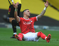 Football - Sky Bet Championship - Watford vs Nottingham Forest - Vicarage Road<br /> <br /> Anthony Knockaert of Nottingham Forest complains after being fouled<br /> <br /> Credit : COLORSPORT/ANDREW COWIE