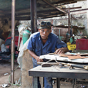 """Havana, Cuba auto body shop.<br /> <br /> For all details about sizes, paper and pricing starting at $85, click """"Add to Cart"""" below."""