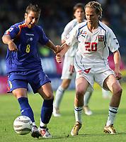 ◊Copyright:<br />GEPA pictures<br />◊Photographer:<br />Thomas Karner<br />◊Name:<br />Plasil<br />◊Rubric:<br />Sport<br />◊Type:<br />Fussball<br />◊Event:<br />FIFA WM 2006, Qualifikation, Tschechien vs Andorra, CZE vs AND<br />◊Site:<br />Liberec, Tschechien<br />◊Date:<br />04/06/05<br />◊Description:<br />Joesp-Manel Ayala (AND), Jaroslav Plasil (CZE)<br />◊Archive:<br />DCSTK-0406054020<br />◊RegDate:<br />05.06.2005<br />◊Note:<br />OK/JM - Nutzungshinweis: Es gelten unsere Allgemeinen Geschaeftsbedingungen (AGB) bzw. Sondervereinbarungen in schriftlicher Form. Die AGB finden Sie auf www.GEPA-pictures.com.<br />Use of picture only according to written agreements or to our business terms as shown on our website www.GEPA-pictures.com