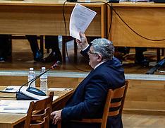 Golden Dawn Leader in court, Athens, 6 November 2019