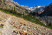 The Lake Oesa Trail, Yoho National Park, British Columbia, Canada
