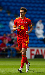 CARDIFF, WALES - Sunday, September 6, 2020: Wales' Ethan Ampadu during the UEFA Nations League Group Stage League B Group 4 match between Wales and Bulgaria at the Cardiff City Stadium. (Pic by David Rawcliffe/Propaganda)