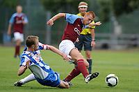 Hannu Tihinen gegen Steve Sidwell © Urs Bucher/EQ Images