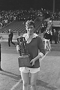 12.09.1971 Hurling Under 21 Final Cork Vs Wexford..Cork.7-8.WexFord.1-11.Cork Captain
