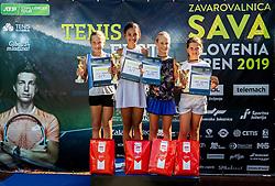 Tenis Fest Trophy ceremony at Day 10 of ATP Challenger Zavarovalnica Sava Slovenia Open 2019, on August 18, 2019 in Sports centre, Portoroz/Portorose, Slovenia. Photo by Vid Ponikvar / Sportida