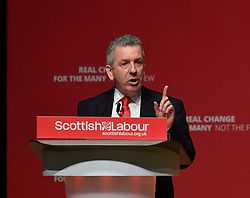 Pictured: Scottish Labour health spokesman David Stewart MSP speaks to conference.<br /> <br /> The Scottish Labour Party spring conference opened in Dundee on Friday, where Scottish Labour leader Richard Leonard joined delegates and party activists.<br /> <br /> <br /> © Dave Johnston / EEm