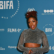 Naomi Ackie Arrivers at The 21st British Independent Film Awards at 1 Old Billingsgate Walk on 21 December 2018, London, UK.