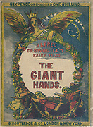 color book cover Giant Hands or the reward of industry a Fairy Tale from the book 'Fairy tales' by Forrester, Alfred Henry, 1804-1872 [Alfred Henry Forrester (10 September 1804 – 26 May 1872) was an English author, comics artist, illustrator and artist, who was also known under the pseudonym of Alfred Crowquill.