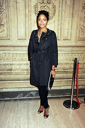 NAOMIE HARRIS at the Cirque du Soleil's gala premier of Quidam held at the Royal Albert Hall, London on 6th January 2009