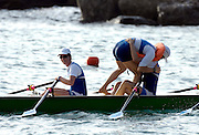 San Remo, ITALY,  Sat.  W4X+, Lausanne Sports Aviron Gold medal winnners. at the FISA Coastal World Championships. Saturday 18/10/2008.[Photo, Peter Spurrier/Intersport-images] Coastal Rowing Course: San Remo Beach, San Remo, ITALY