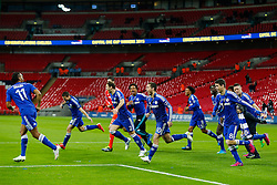 celebrates after winning the Capital One Cup Final - Photo mandatory by-line: Rogan Thomson/JMP - 07966 386802 - 01/03/2015 - SPORT - FOOTBALL - London, England - Wembley Stadium - Chelsea v Tottenham Hotspur - Capital One Cup Final.