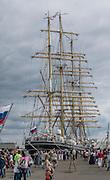 Zlot żaglowców w Gdyni, rosyjski żaglowiec STS Kruzensztern